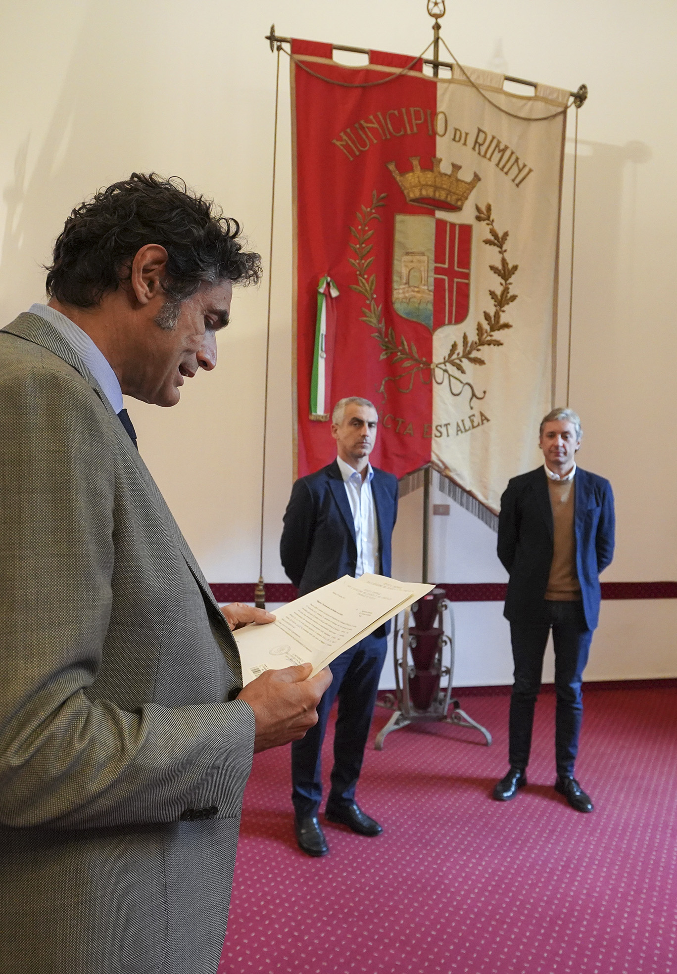 Jamil Sadegholvaad proclamato Sindaco di Rimini